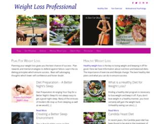 weight-loss-professional.com screenshot