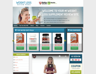 weight-loss-review-panel.com screenshot