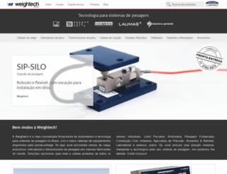 weightech.com.br screenshot