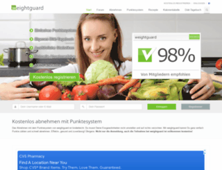 weightguard.de screenshot