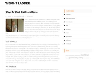 weightladder.com screenshot