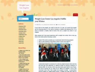 weightlosclinics.wordpress.com screenshot