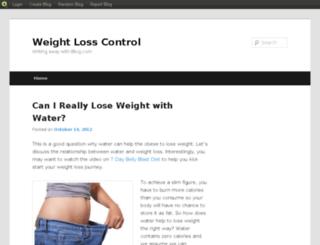 weightlosscontrol.blog.com screenshot