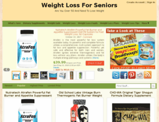 weightlossforseniors.org screenshot