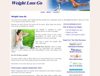 weightlossgo.com screenshot