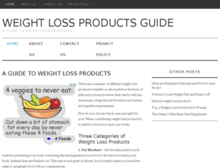 weightlossproductsguide.com screenshot