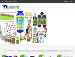 weightlosssupplementspills.com screenshot