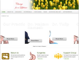 weightlosssurgery.in screenshot
