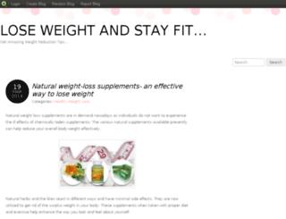 weightlosstipsandsolutions.blog.com screenshot