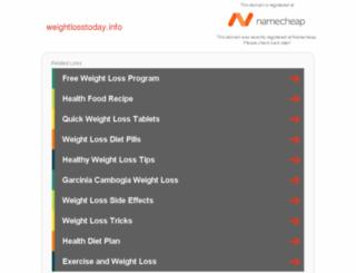 weightlosstoday.info screenshot