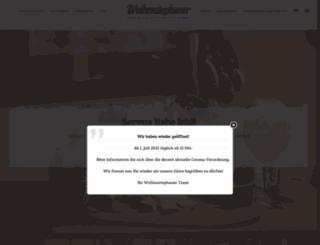 weihenstephaner-berlin.de screenshot
