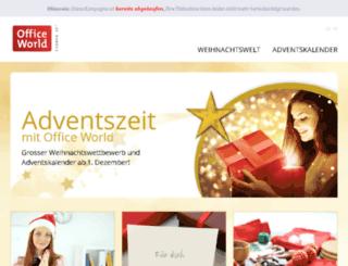 weihnachten.officeworld.ch screenshot