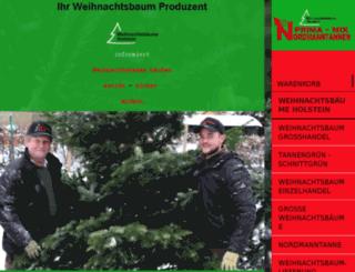 weihnachtsbaeum.de screenshot