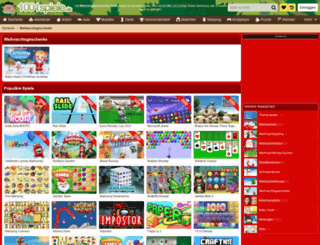 weihnachtsgeschenke.1001spiele.de screenshot
