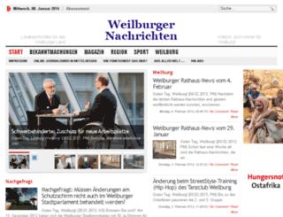 weilburger-nachrichten.de screenshot