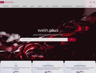 wein-plus.ch screenshot