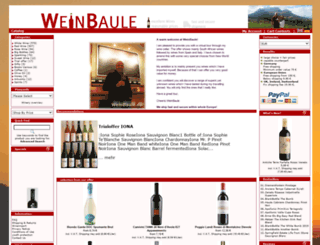 weinbaule.com screenshot