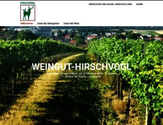 weingut-hirschvogl.at screenshot