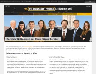 weinhandl.com screenshot