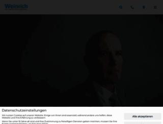 weinrich.de screenshot