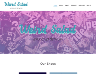 weirdsalad.com screenshot
