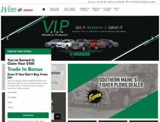 weirsgmc.com screenshot