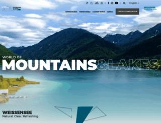 weissensee.com screenshot