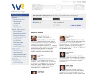 weissresearchissues.com screenshot
