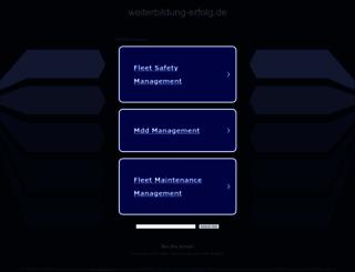 weiterbildung-erfolg.de screenshot