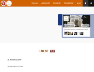 weko.uwb.edu.pl screenshot