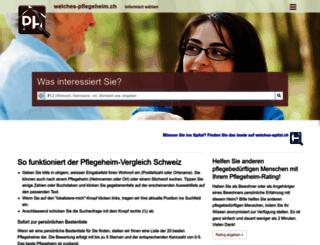 welches-pflegeheim.ch screenshot