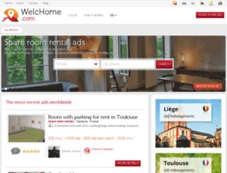 welchome.com screenshot