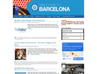 welcome-to-barcelona.com screenshot