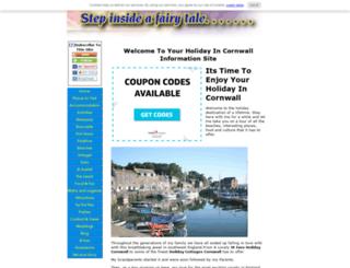 welcome-to-cornwall.com screenshot