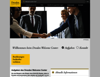 welcome.dresden.de screenshot