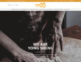 welcome.yongsheng.com.my screenshot