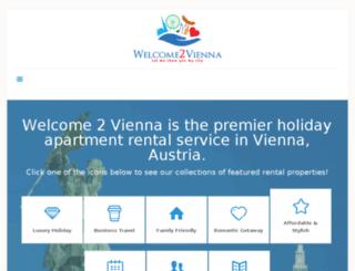 welcome2vienna.com screenshot