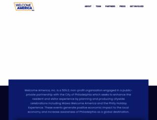 welcomeamerica.com screenshot