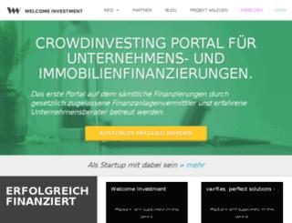 welcomeinvestment.com screenshot