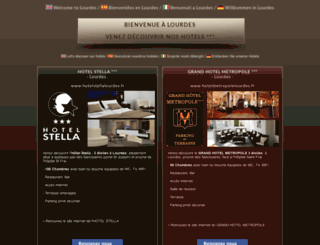 welcomelourdes.com screenshot