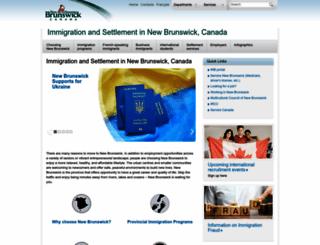 welcomenb.ca screenshot