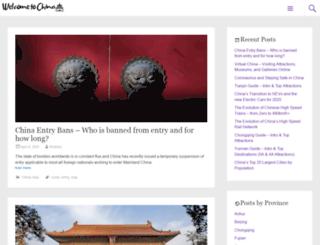 welcometochina.com.au screenshot