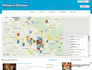 welcometofranconia.com screenshot