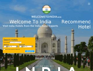 welcometoindia.mobi screenshot