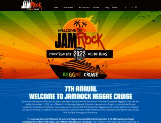welcometojamrockreggaecruise.com screenshot