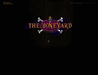 welcometotheboneyard.com screenshot