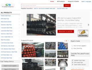 welded-steelpipes.com screenshot