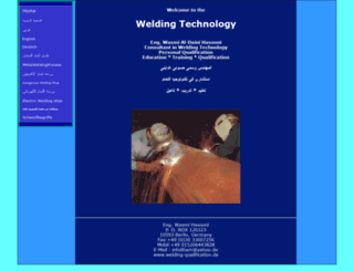 welding-qualification.de screenshot