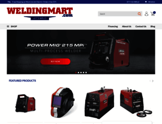 weldingmart.com screenshot