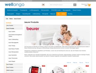 wellango-shop.de screenshot